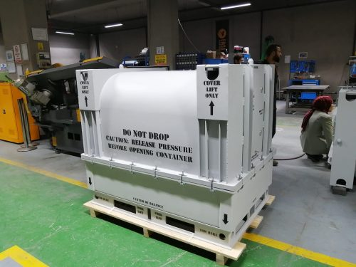 TS1400 SERIES ENGINE SHIPPING AND STORAGE CONTAINER 1