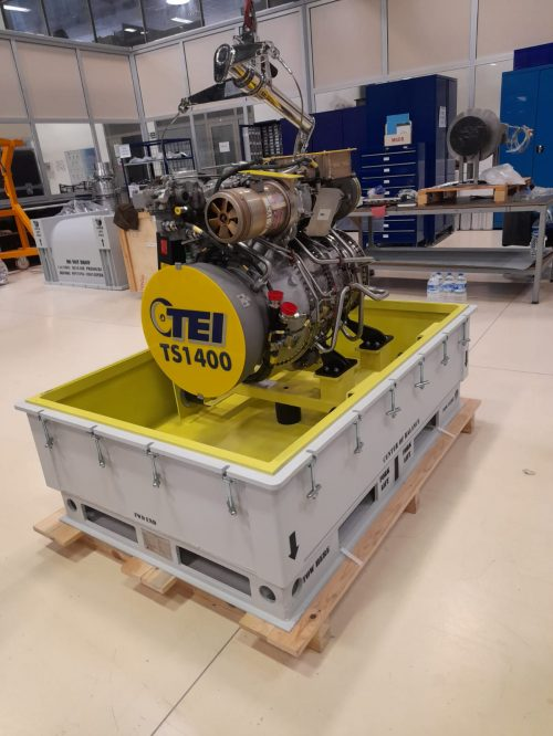 TS1400 SERIES ENGINE SHIPPING AND STORAGE CONTAINER 3